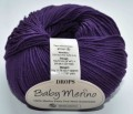 DROPS Baby Merino - 35 dark purple
