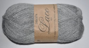 DROPS Lace 501(50g) - light grey