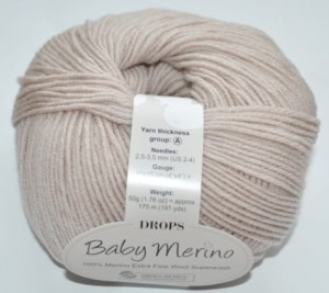 DROPS Baby Merino - 23 light beige