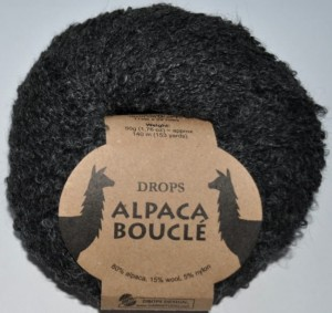 DROPS Alpaca Boucle - 506 dark grey