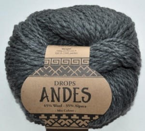 DROPS Andes - 519 dark grey