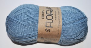 DROPS Flora - 13 denim blue