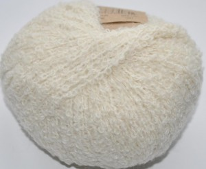 DROPS Alpaca Boucle - 100 off white