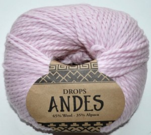 DROPS Andes - 3145 powder pink